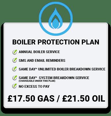 Boiler Service Plan blue