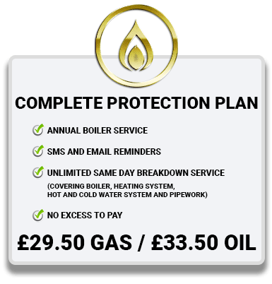 Boiler Service Plan gold