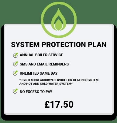 Boiler Service Plan green