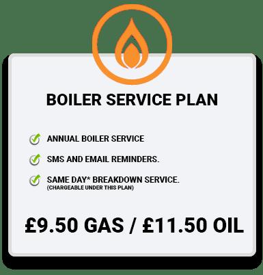 Boiler Service Plan orange